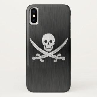 Coque iPhone X Jolly roger de luxe