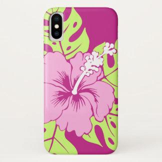 Coque iPhone X Ketmie de Hawaïen de plage de Banzai