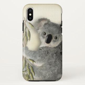 Coque iPhone X Koala mignon de bébé