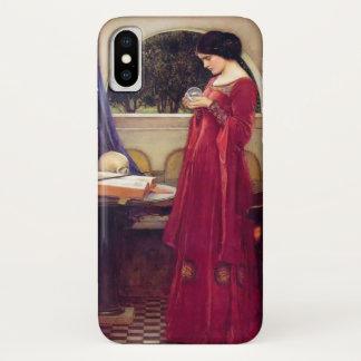 """Coque iPhone X """"La boule de cristal"""" par le château d'eau"""