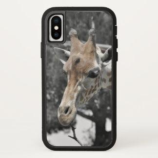Coque iPhone X La girafe