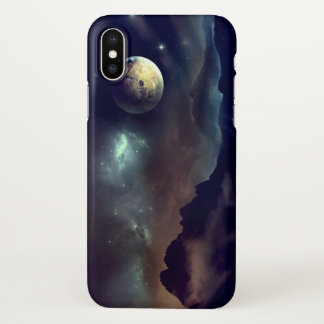 Coque iPhone X La lune