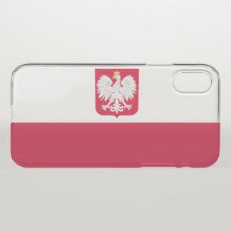 Coque iPhone X La Pologne