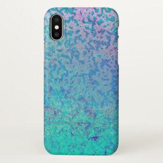 Coque iPhone X la poussière d'étoile de parties scintillantes de