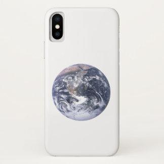 Coque iPhone X La terre de planète du jour de la terre de