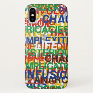 Coque iPhone X La vie