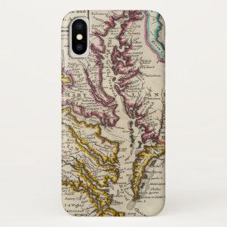 Coque iPhone X La Virginie et le Maryland