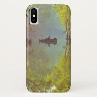Coque iPhone X L'affiche avec du recul du livre   de jungle