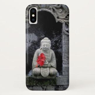 Coque iPhone X L'Asie, Indonésie, Bali. Un tombeau de Bouddha