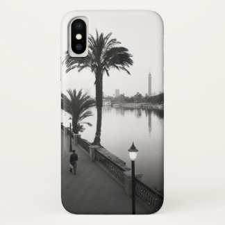 Coque iPhone X Le Caire Egypte, le long du Nil