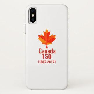 Coque iPhone X Le CANADA heureux 150 ans de cool canadien de
