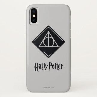Coque iPhone X Le charme | de Harry Potter de mort sanctifie