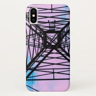 Coque iPhone X Le ciel est le cas de téléphone portable de limite
