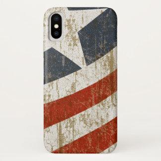 Coque iPhone X Le cru s'est fané Américain