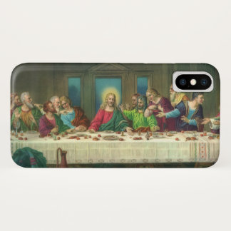 Coque iPhone X Le dernier dîner par Leonardo da Vinci