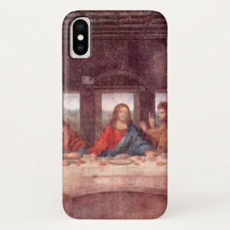 Coque iPhone X Le dernier dîner par Leonardo da Vinci, la
