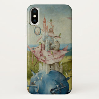 Coque iPhone X Le jardin des plaisirs terrestres