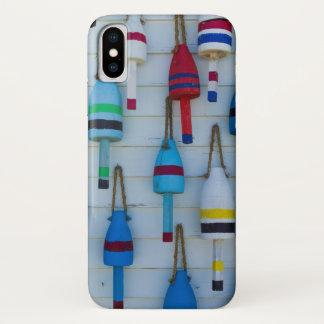 Coque iPhone X Le Maine, Stonington, balises décoratives de