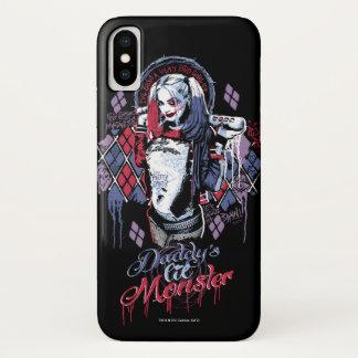 Coque iPhone X Le peloton de suicide | Harley Quinn a encré le