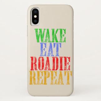 Coque iPhone X Le sillage mangent la répétition de ROADIE