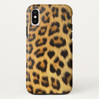Coque iPhone X Léopard