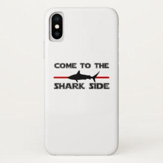 Coque iPhone X Les grands requins blancs viennent aux requins
