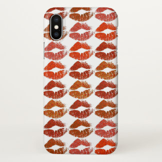 Coque iPhone X Lèvres colorées élégantes #21