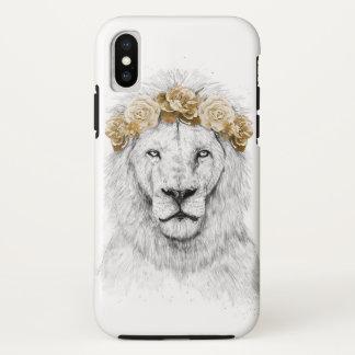 Coque iPhone X Lion de festival II