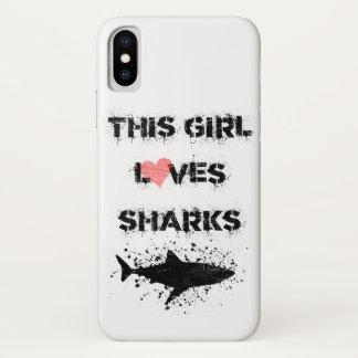 Coque iPhone X l'iPhone X, ce des filles aime le cas de téléphone