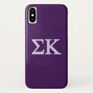 Coque iPhone X Logo de Lil de Kappa de sigma grand