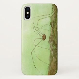 Coque iPhone X Long cas de l'iPhone X de jambes de papa