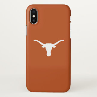 Coque iPhone X L'Université du Texas | les accrochent des klaxons