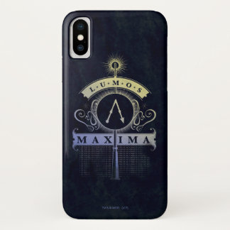Coque iPhone X Maximum du charme | Lumos de Harry Potter