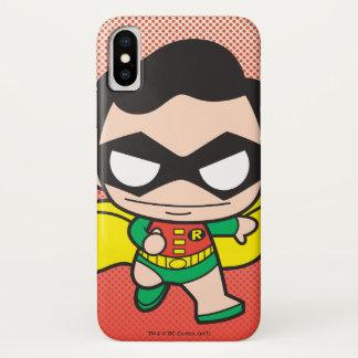 Coque iPhone X Mini Robin