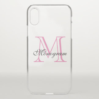 Coque iPhone X Monogramme