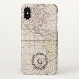 coque iphone x carte du monde
