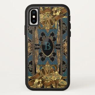 Coque iPhone X Monogramme protecteur de Debourg Blythe