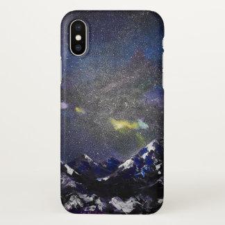 Coque iPhone X Montagnes