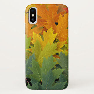 Coque iPhone X Motif 2 d'automne