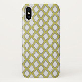Coque iPhone X Motif arabe de style