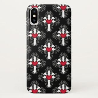 Coque iPhone X Motif assez gothique