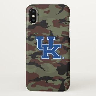 Coque iPhone X Motif BRITANNIQUE du Kentucky   Kentucky Camo