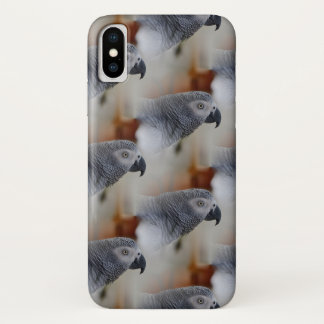 Coque iPhone X Motif de gris africain