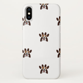 Coque iPhone X Motif de logo