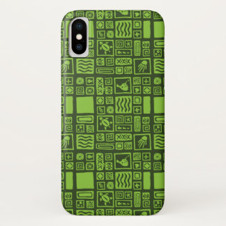 Coque iPhone X Motif de Tiki