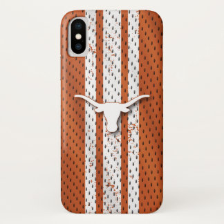 Coque iPhone X Motif du Jersey de Longhorns de l'Université du