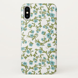 Coque iPhone X Motif floral 3
