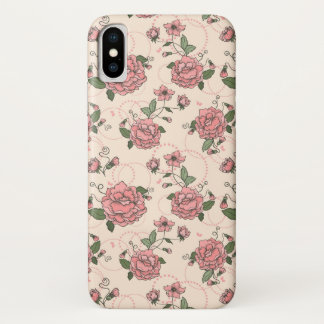Coque iPhone X Motif floral 5