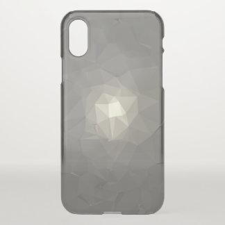 Coque iPhone X Motif géométrique abstrait moderne - bougie de