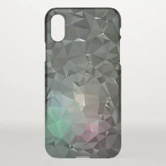 Coque iPhone X Motif géométrique abstrait moderne - équilibre de